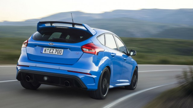 Motoring Research Ford Focus RS review 2016 first drive