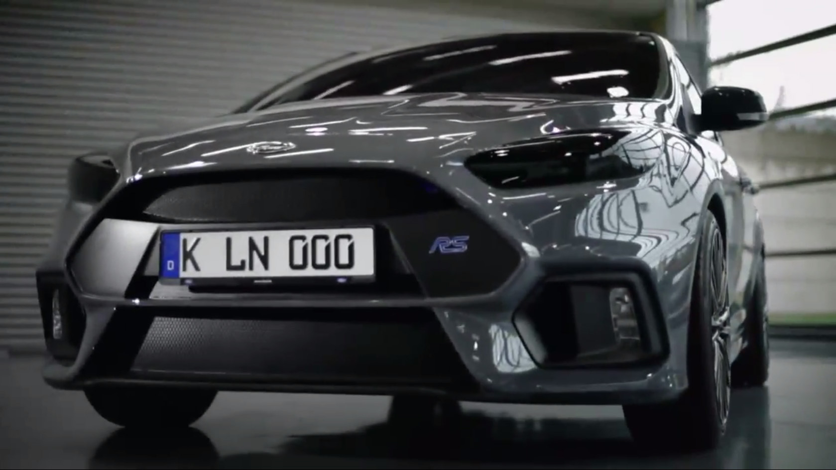 2017 Ford Focus RS: The Mega Focus, Revealed at Last