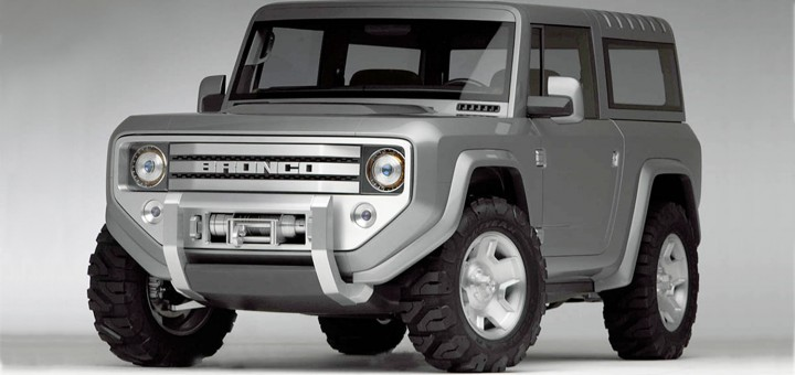 Ford Baby Bronco Comes Alive In These Exclusive Renderings