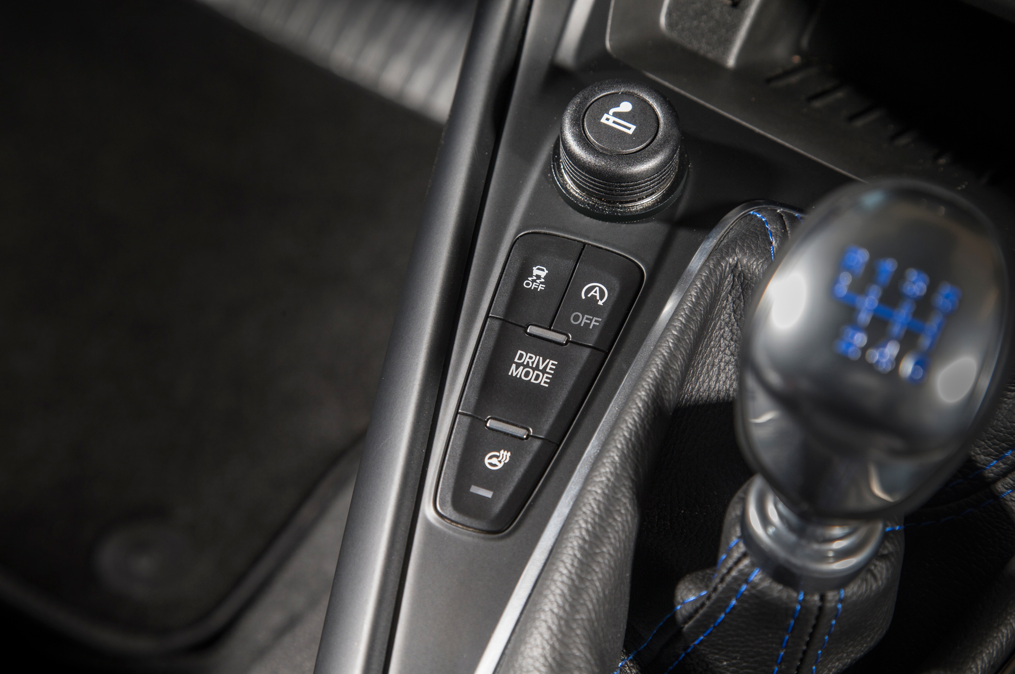 Ford's drift stick offers some manual control in an electronic.