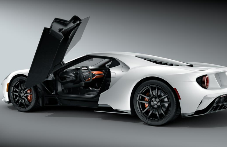 Ford Gt White Door Png