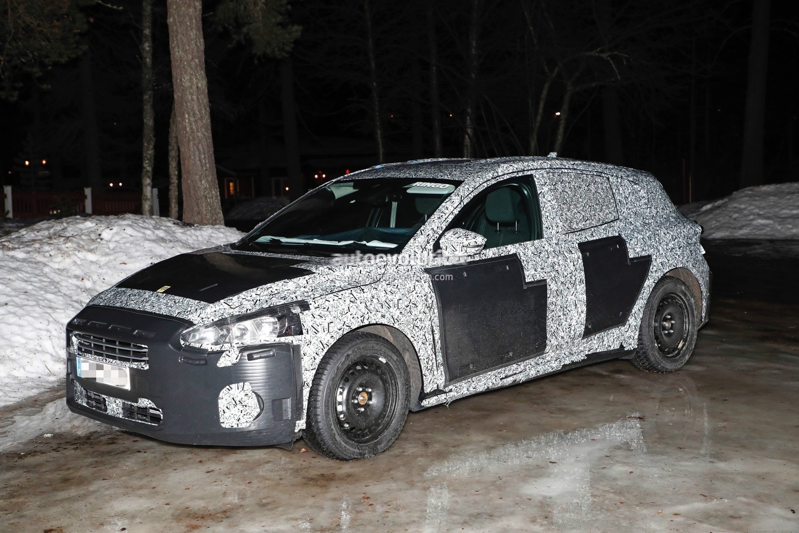 Ford Fayetteville Nc >> 2018 Ford Focus (Mk4) Spied Wearing Production Body Shell