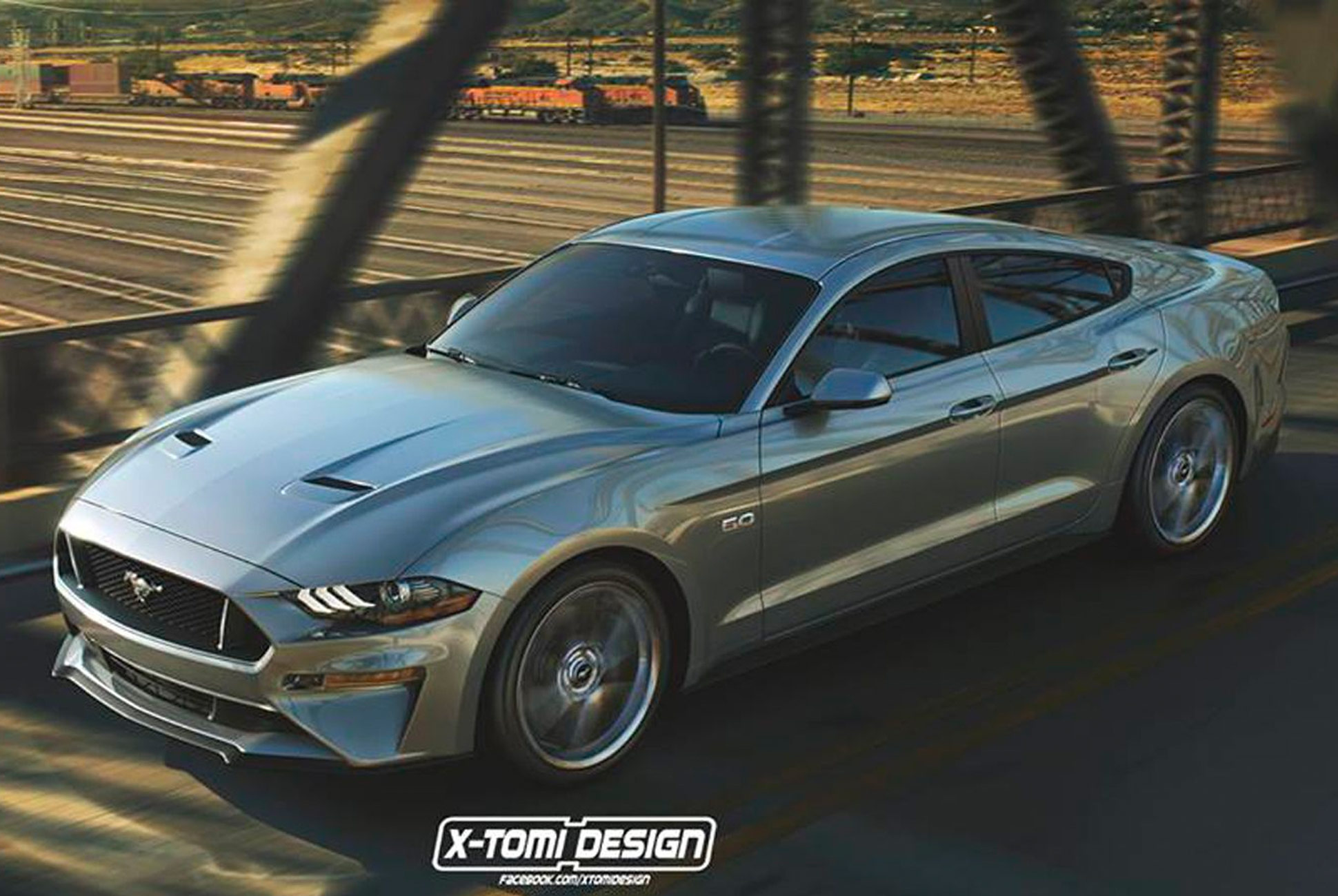 Rumor ford may be planning a high performance four door mustang