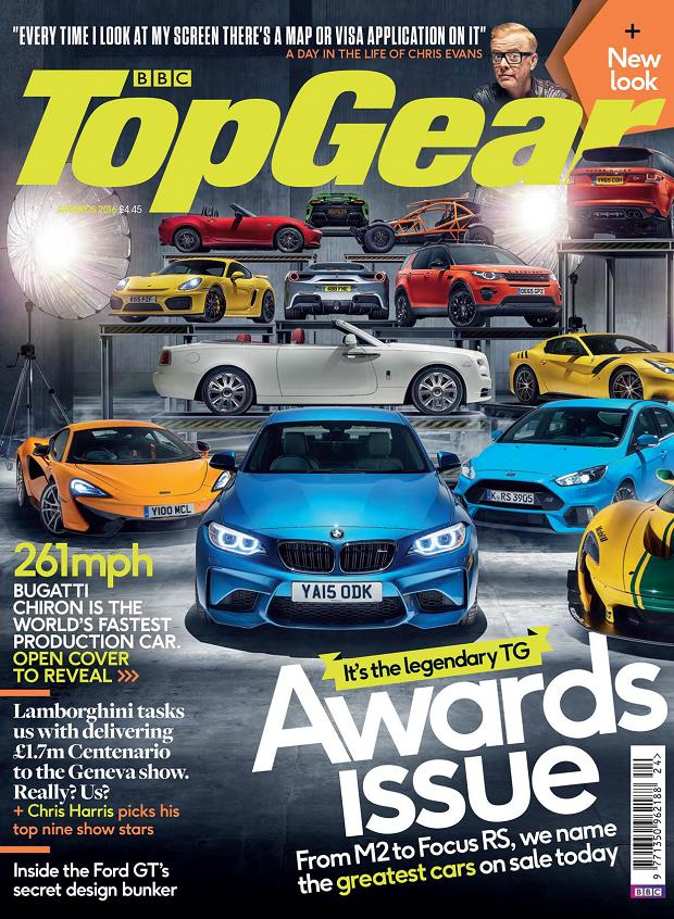 Top Gear Magazine Awards - Focus RS is COTY 2016