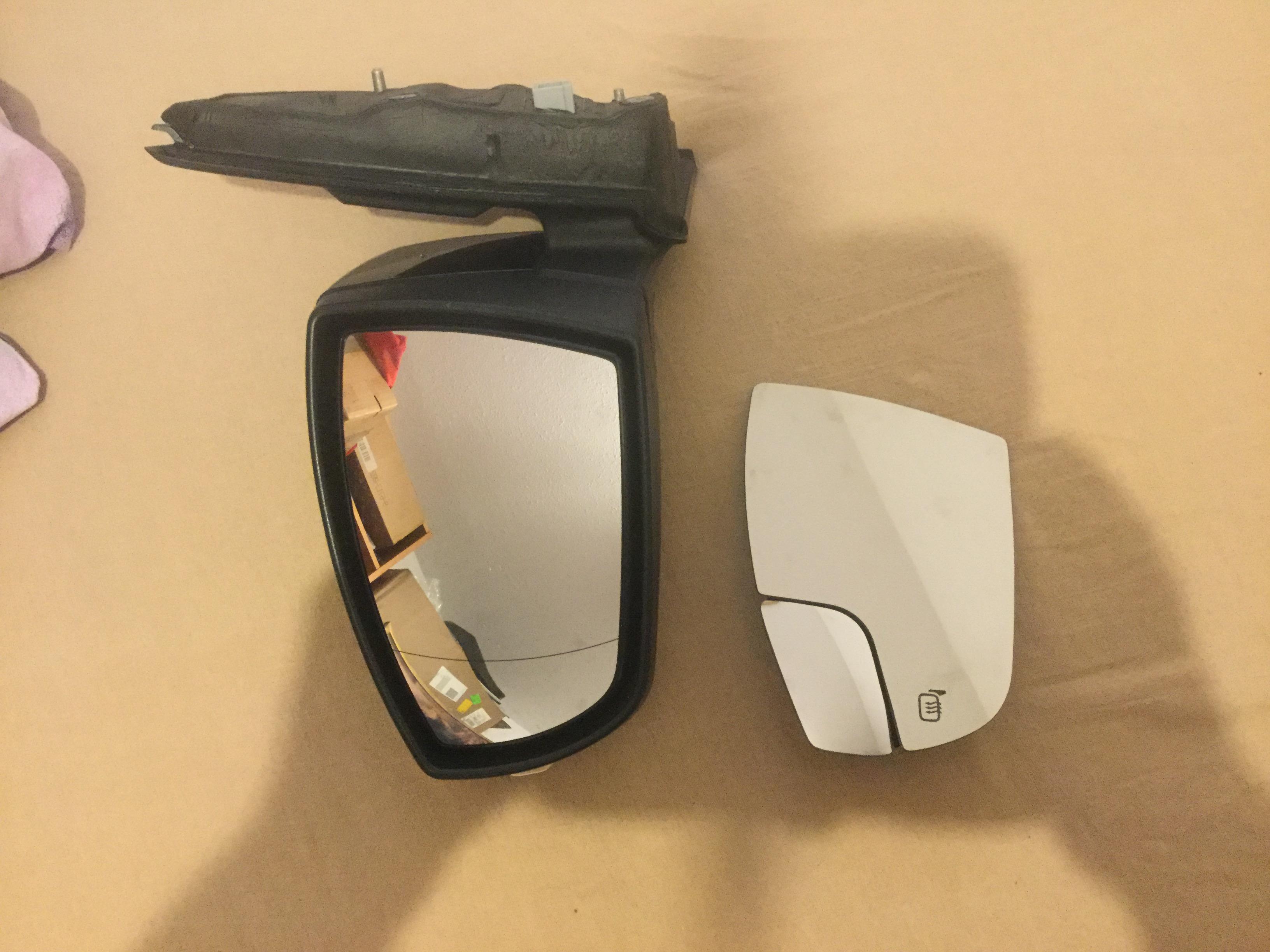 Power Heated Blind Spot BLIS Mirror Glass RH Right Passenger Side for Escape