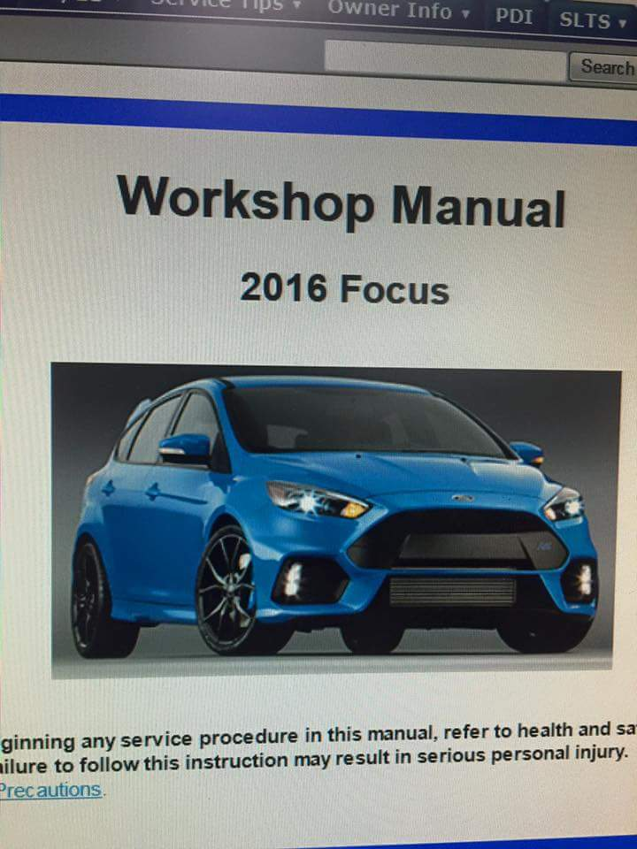 the workshop manual has been released rh focusrs org focus workshop manual 2001 focus workshop manual pdf