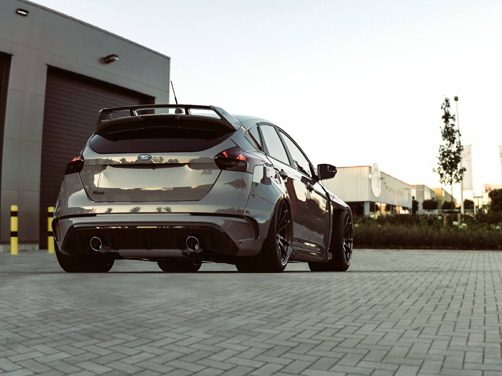 Ford Fayetteville Nc >> Both Ford Focus RS and ST Get Widebody Kit from Fortune Flares