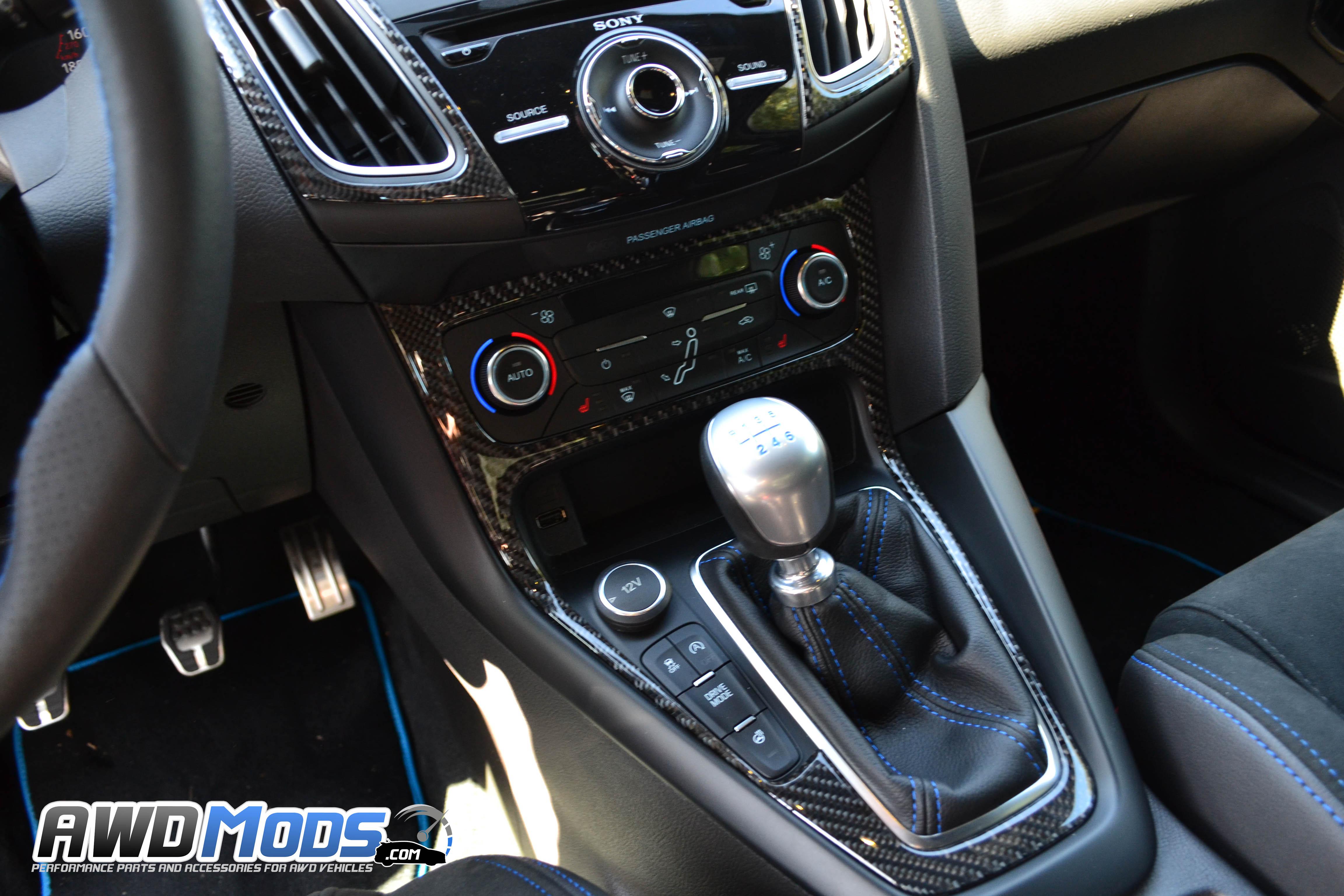 Name ford focus rs carbon fiber interior trim