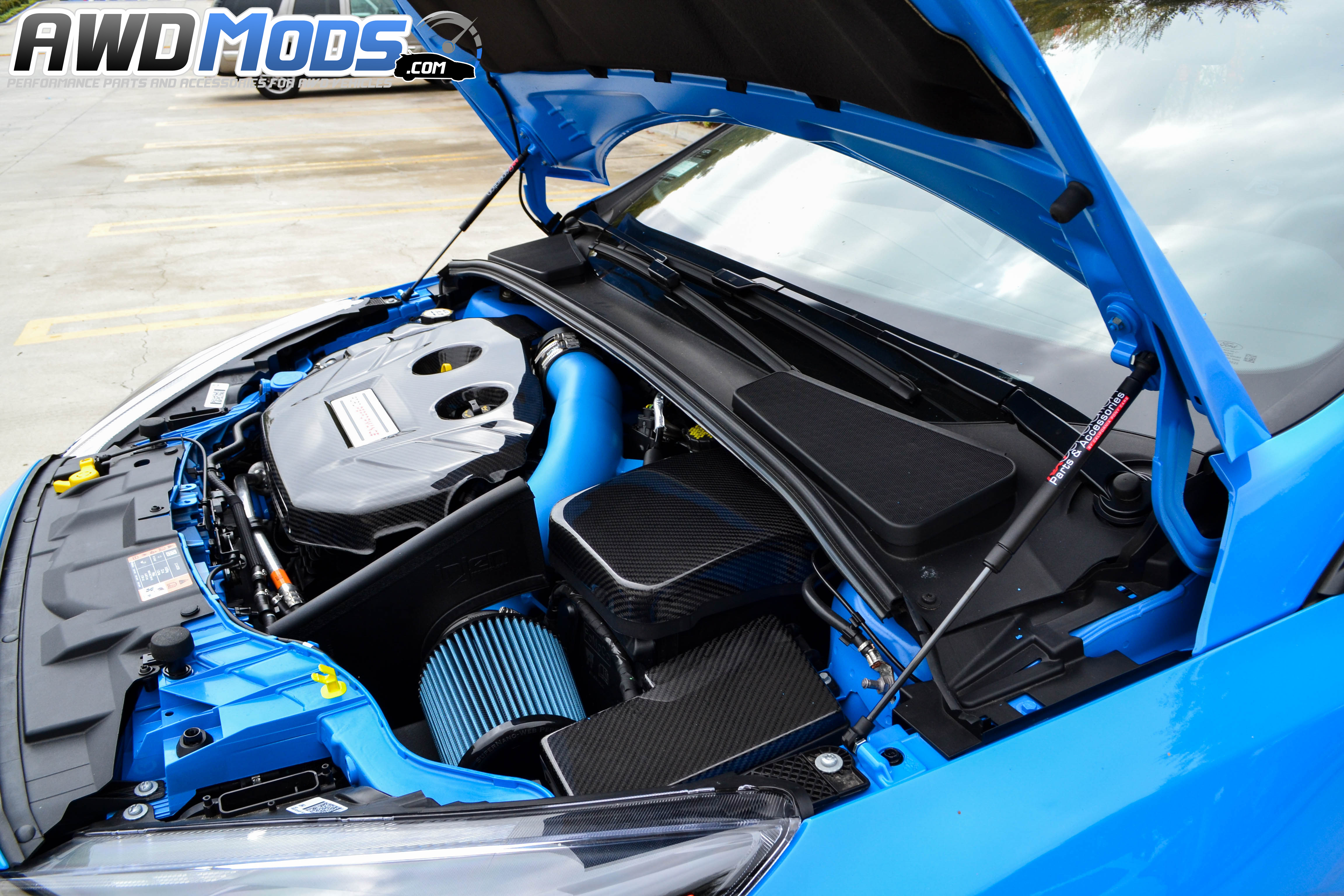 name ford focus rs hood lift kit 7