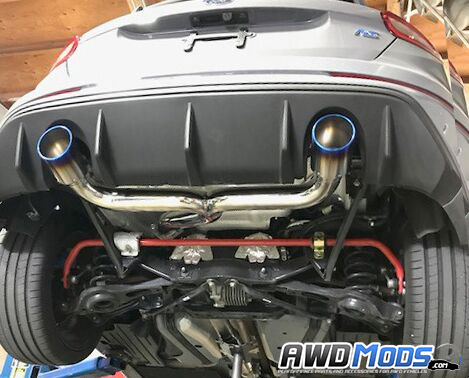 New Injen Cat Back Exhaust System For The Ford Focus Rs