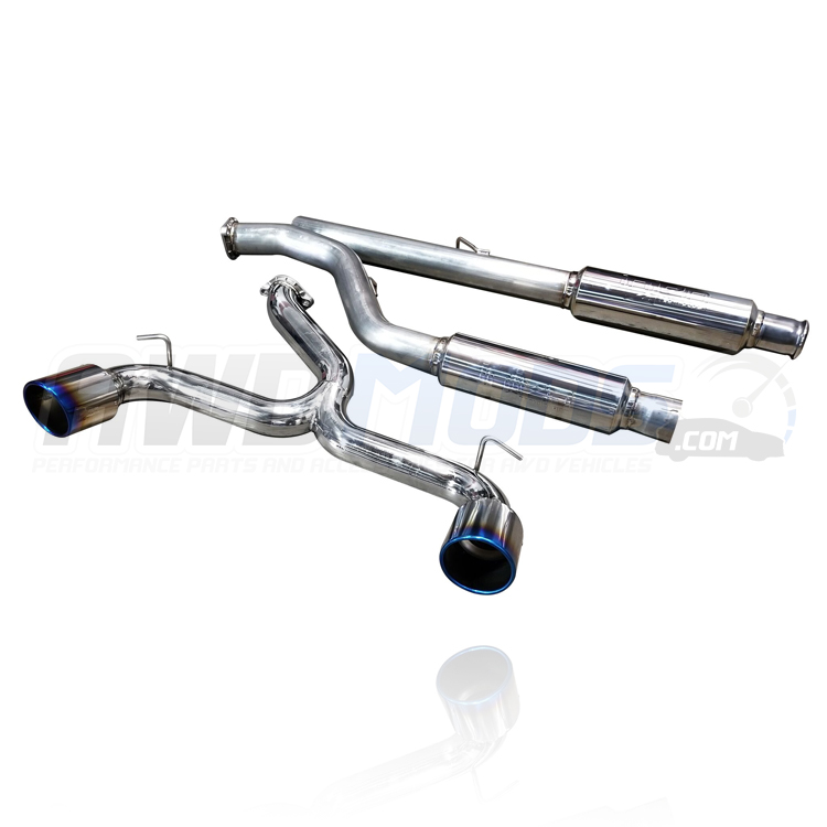 Focus Rs Injen  Performance Cat Back Exhaust System