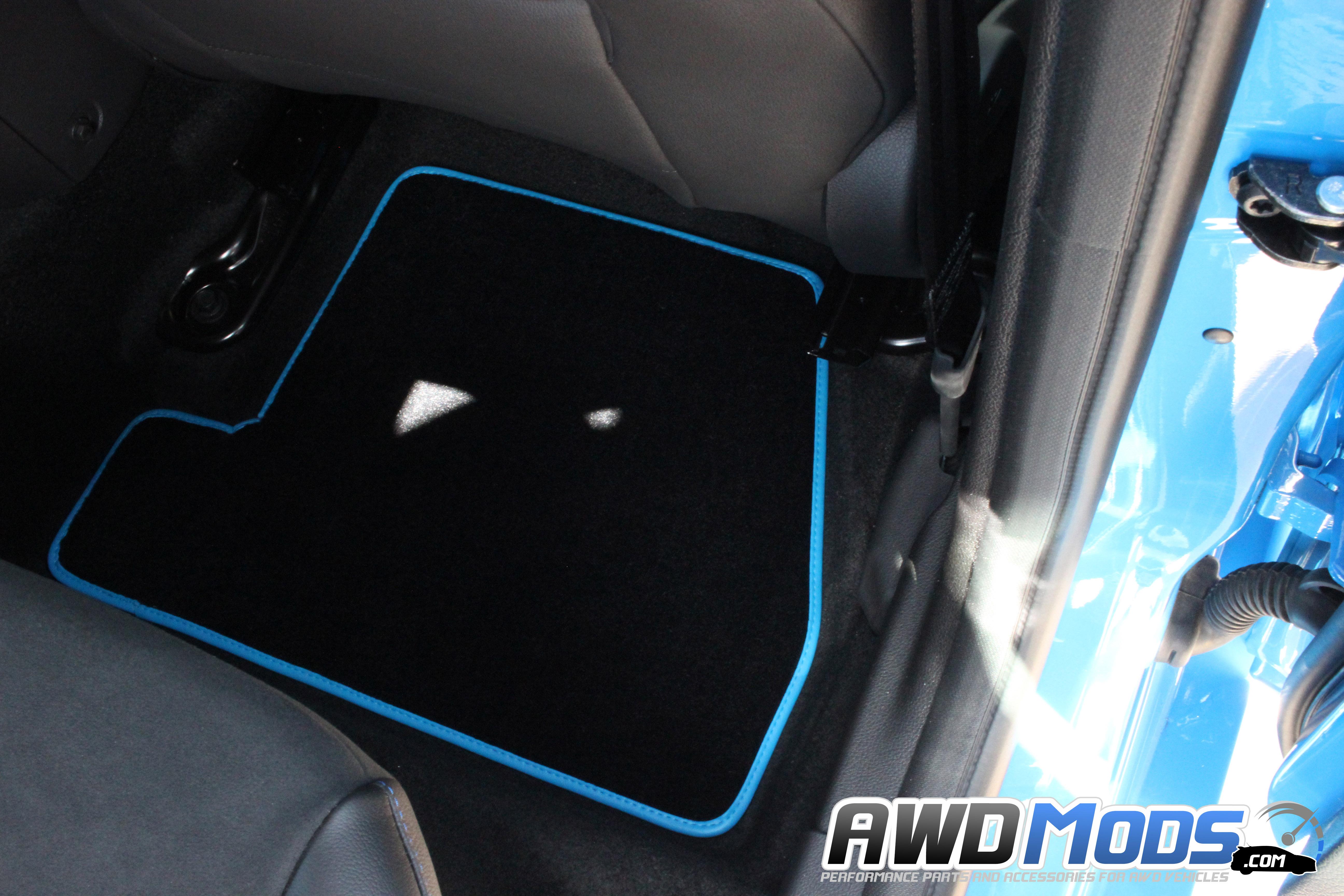Name ford focus rs rear passenger floor mat