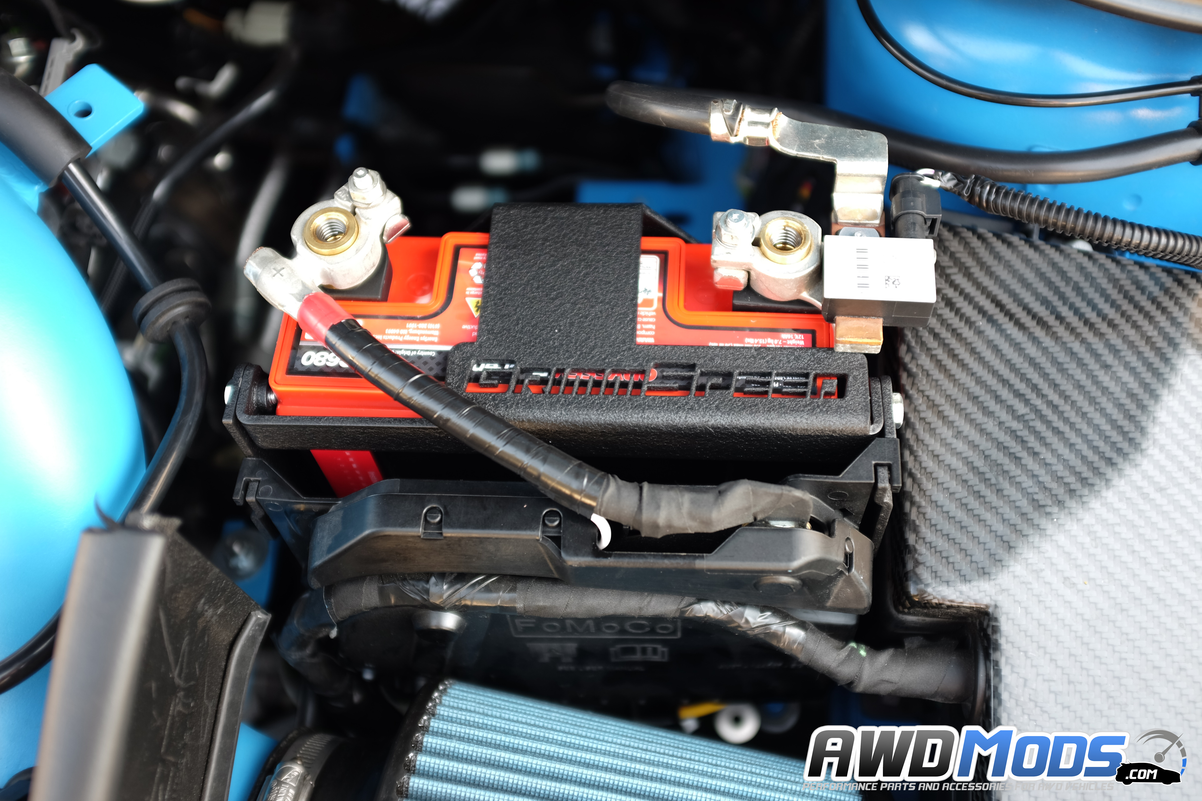 Name ford focus rs st grimmspeed battery mount