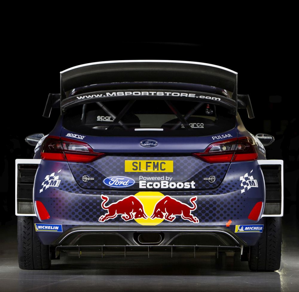 2018 WRC Red Bull M-SPORT LIVERY REVEALED