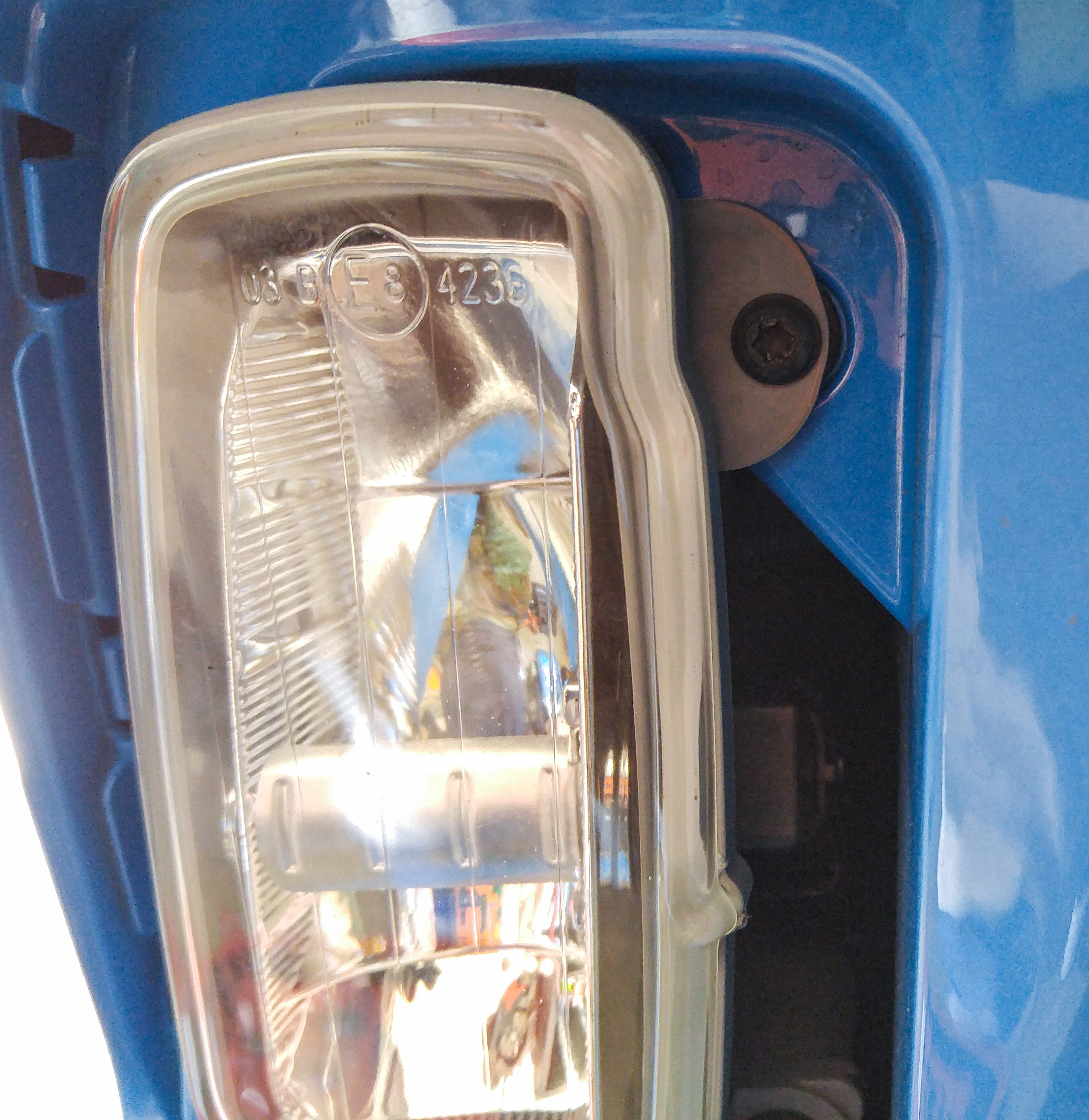 How To: Fog light bulb install