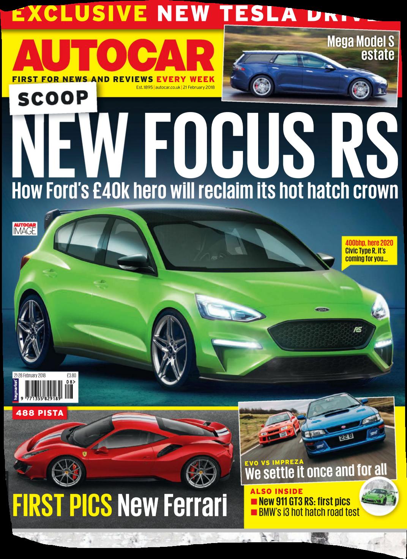 2020 Mk 4 Focus Rs
