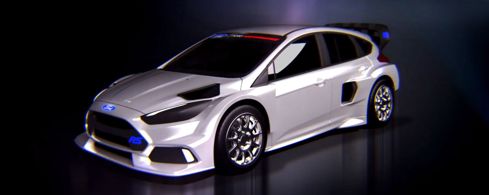 D Ford Focus Rs Rx Frontside