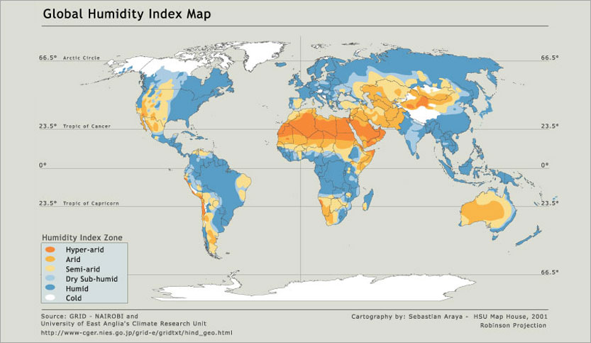 Whats In Front Of The Intercooler Page - Humidity map
