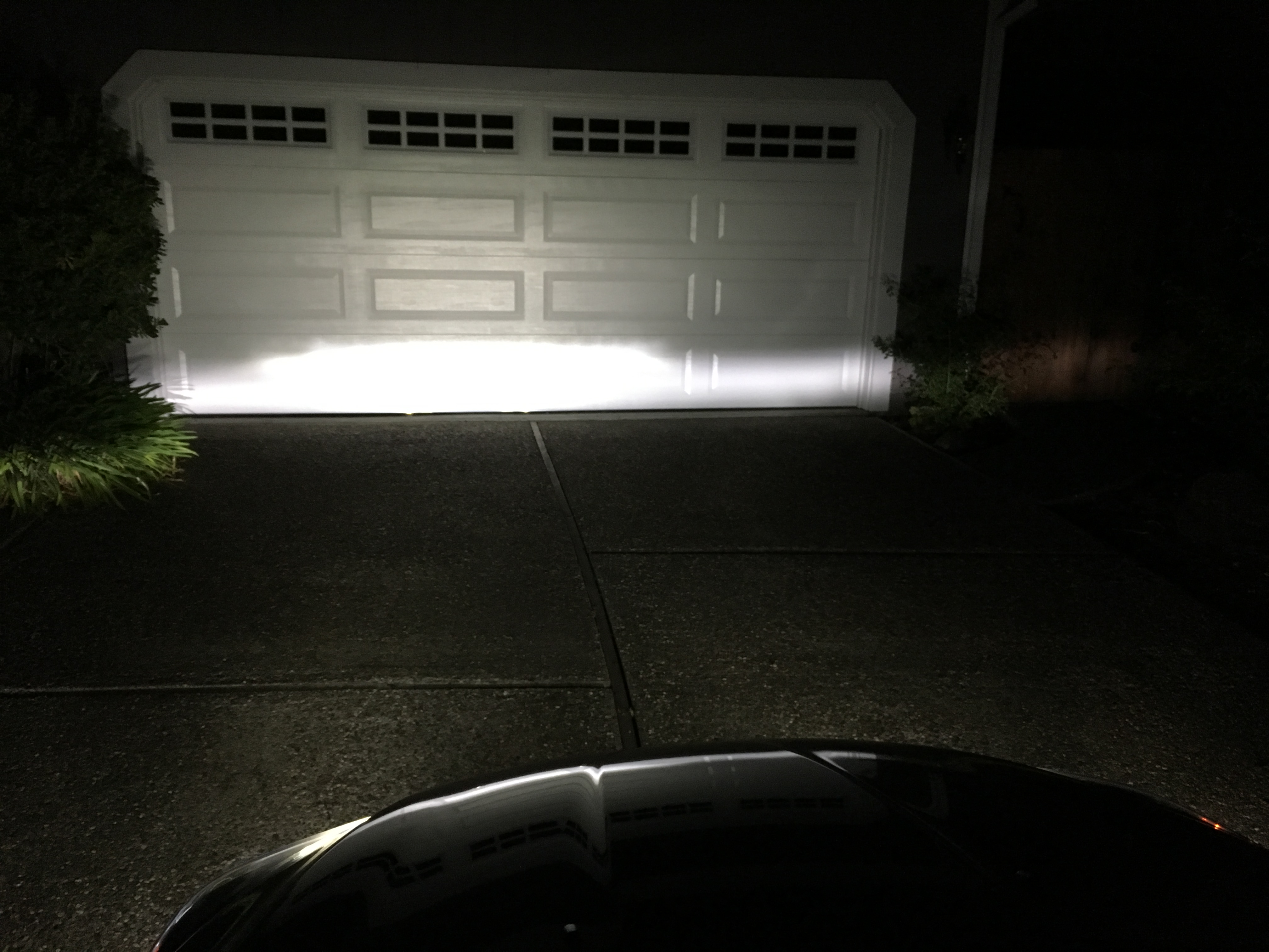 LED Fog light install