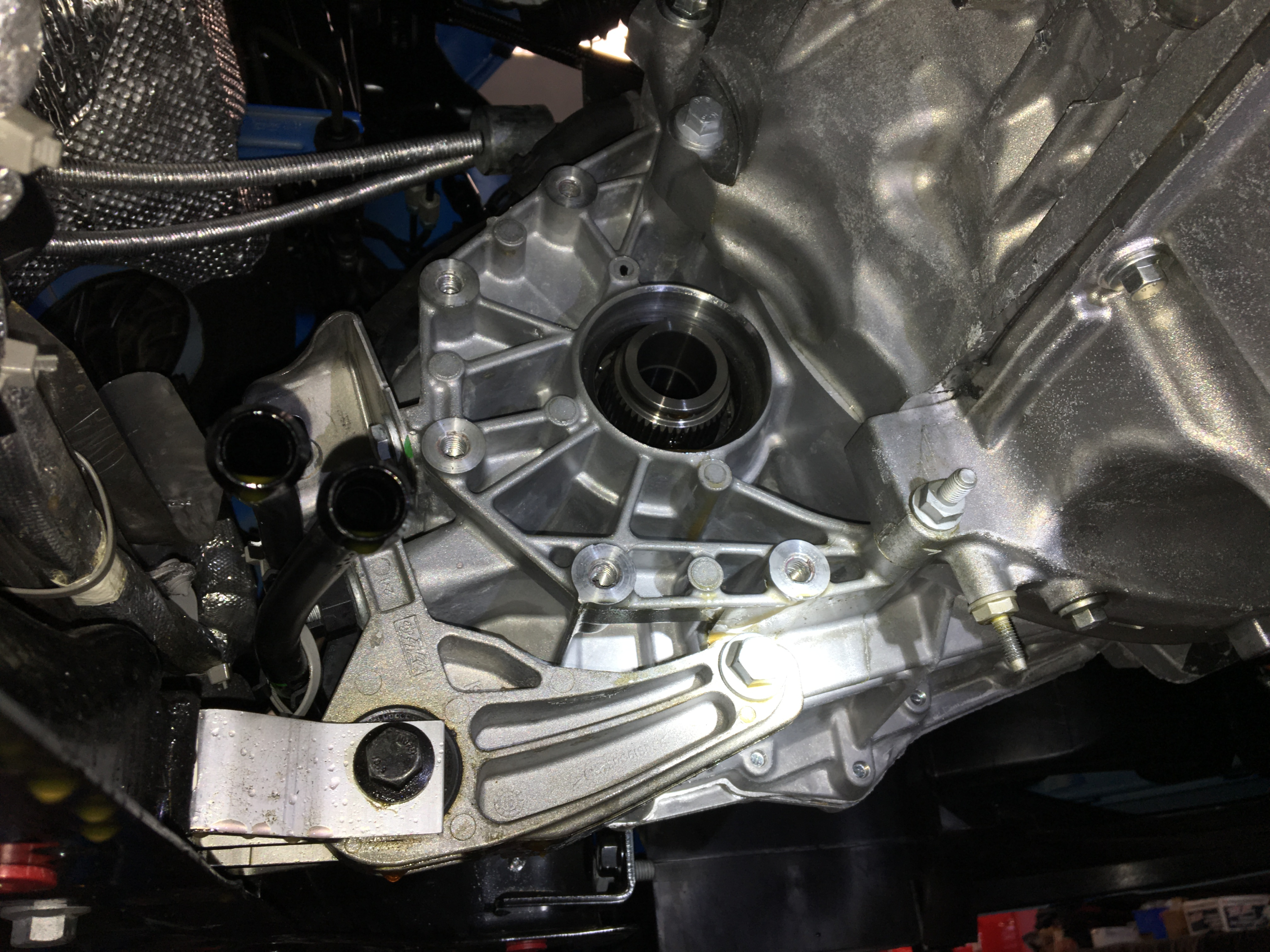 Ford Focus Oil Change T Case Ptu Leaking Oil Out Of