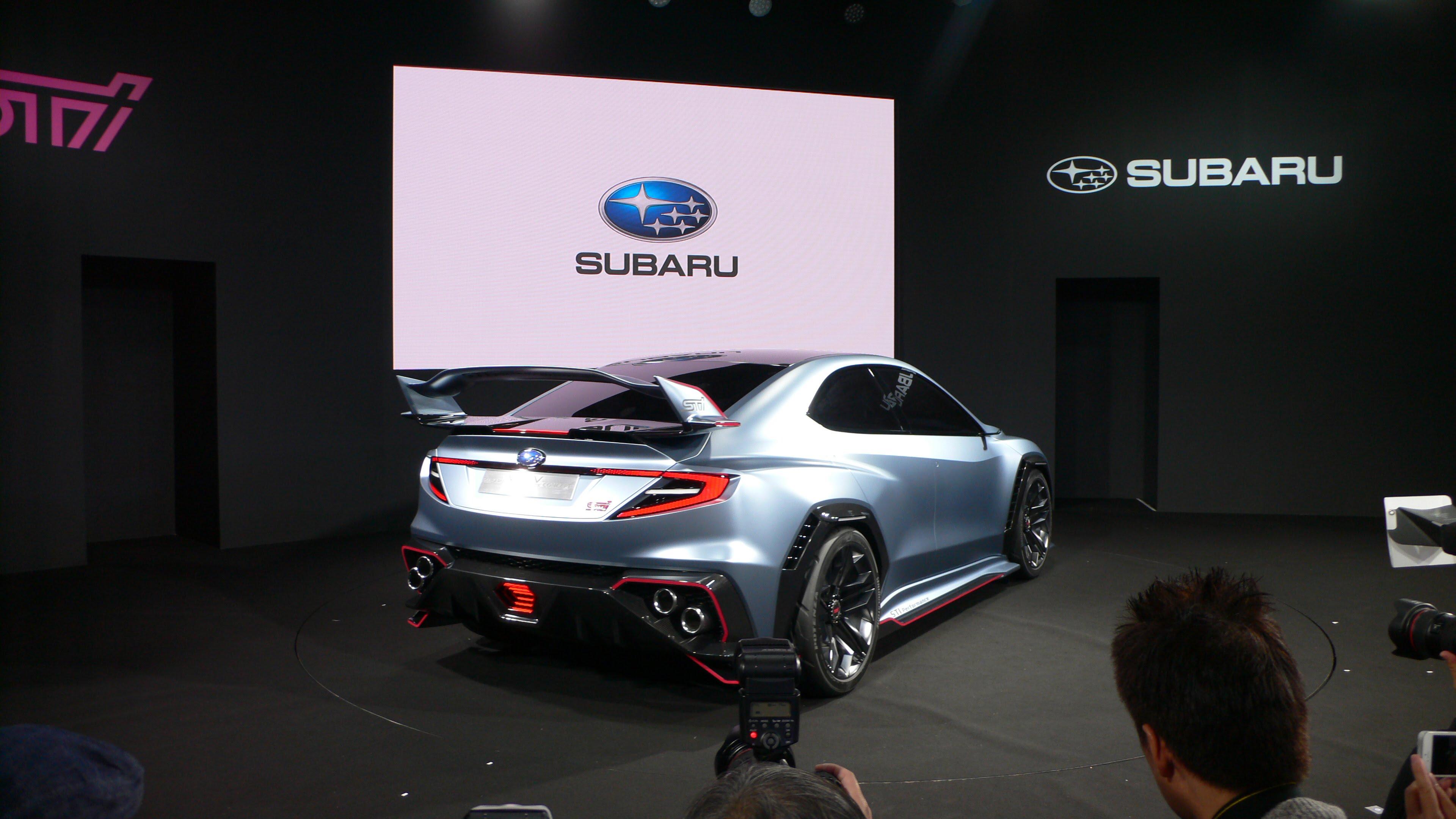Tokyo Auto Salon 2018 Subaru Viziv Performance Sti Concept 2 With