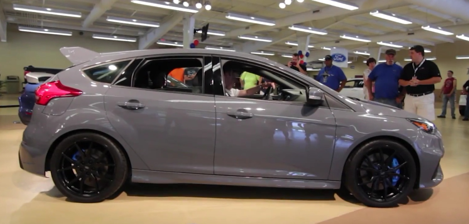 Ford Fayetteville Nc >> Stealth Grey 2016 Ford Focus RS Stalls Engine at Ford Nationals, Still Cool as Hell