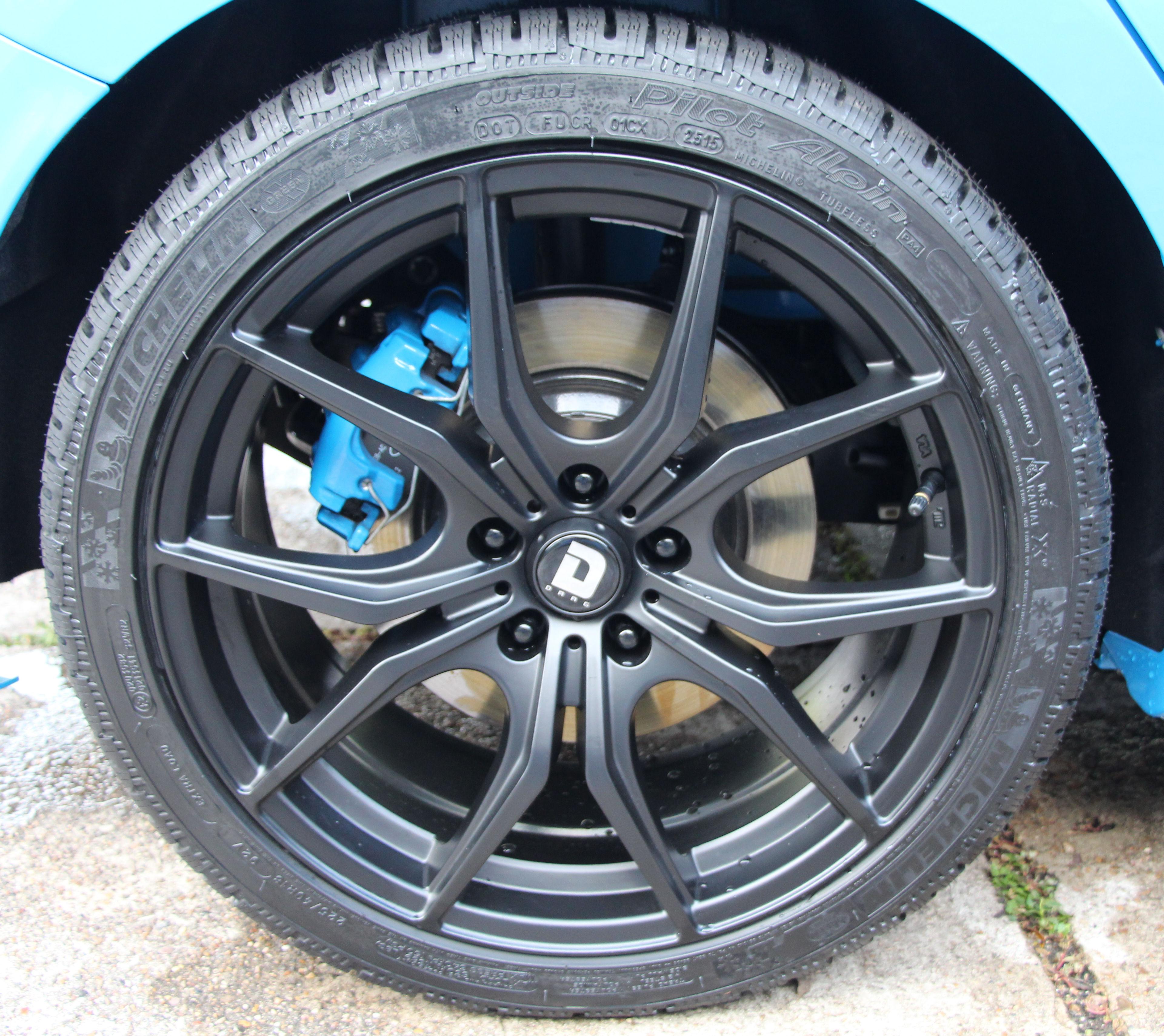 """Tire Size Comparison >> Drag 18"""" Focus RS Winter Tires"""