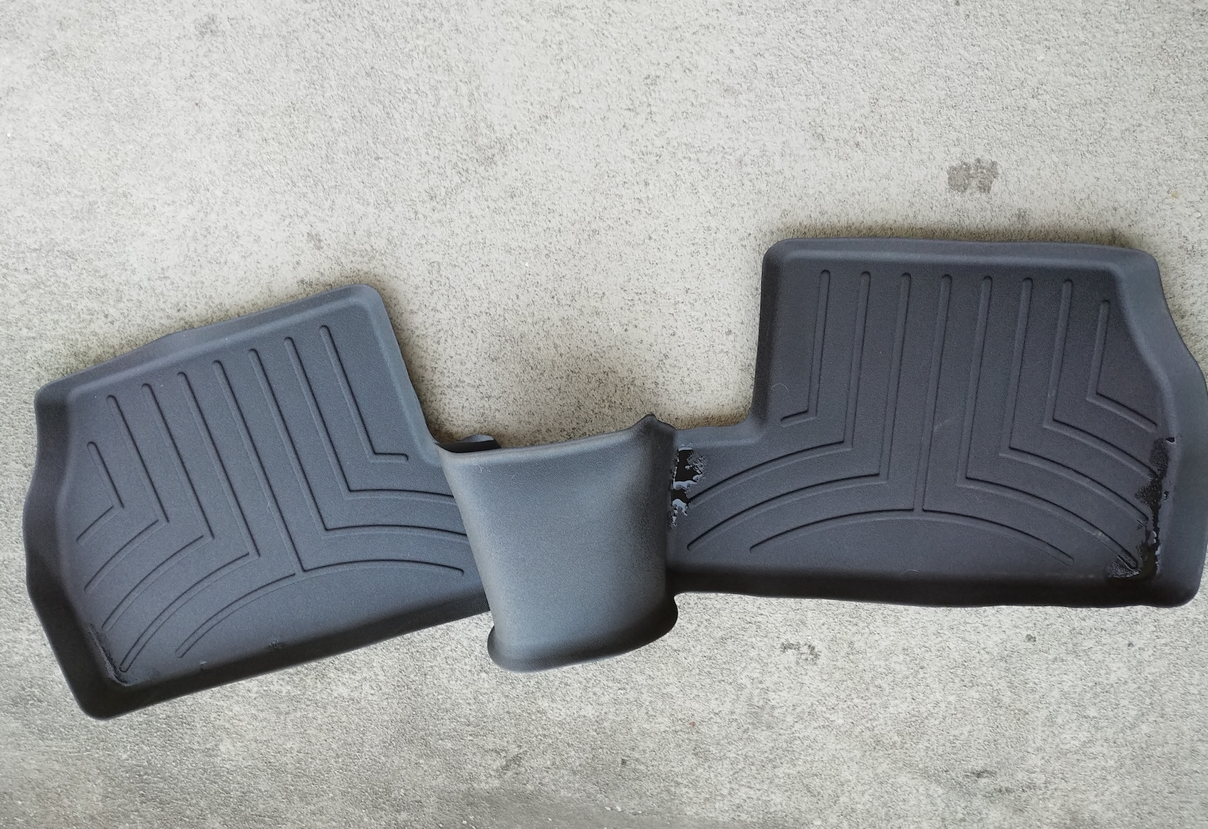 (SOLD) Laser cut WeatherTech Mats front, rear and cargo ...