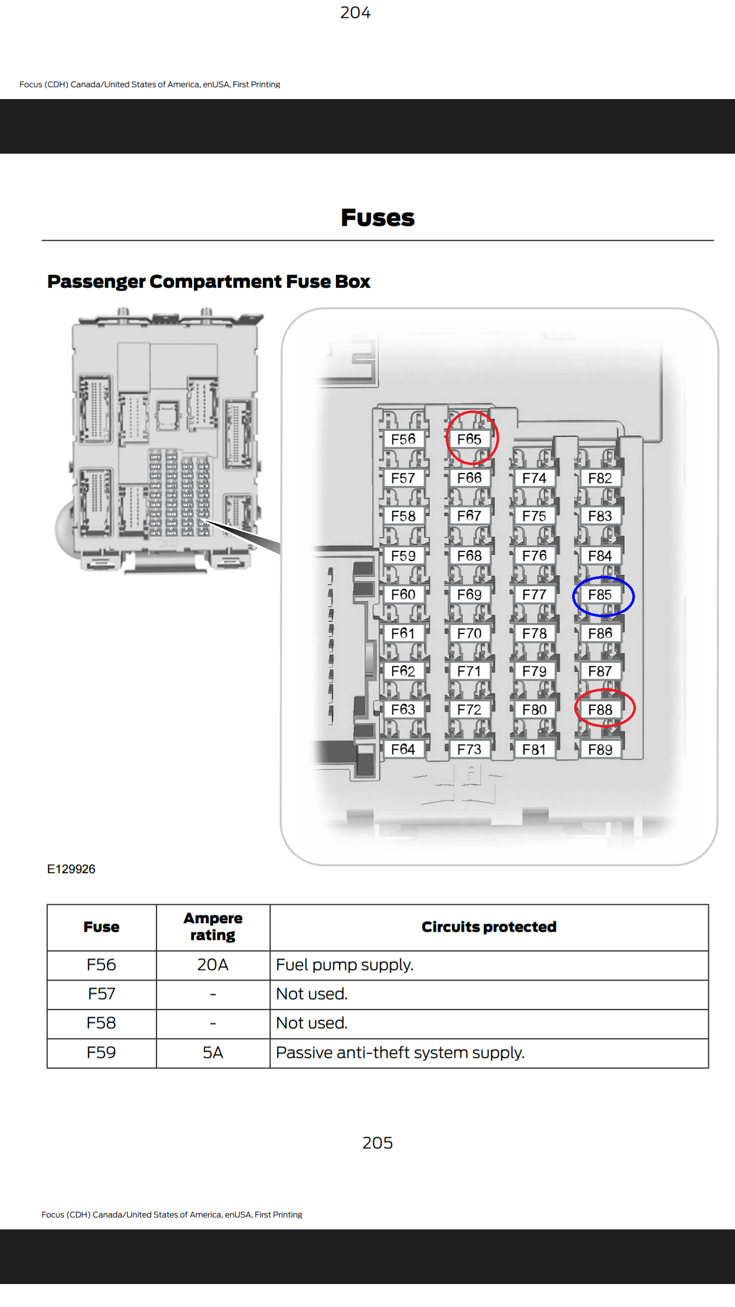 Attachment 12165 · Attachment 12166. Fuse box ...