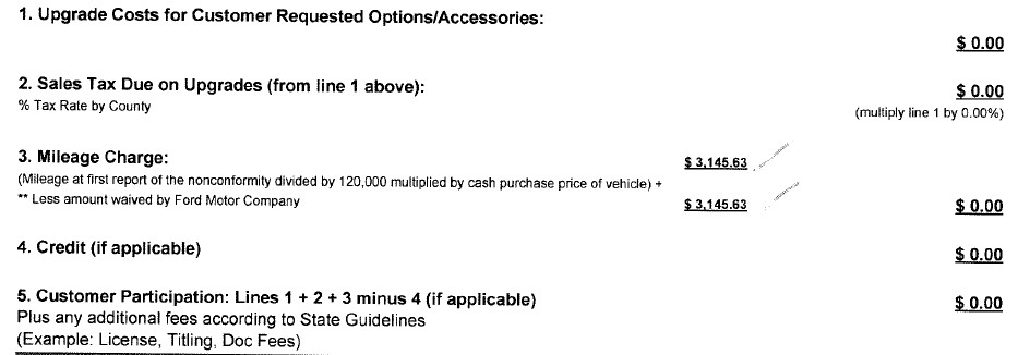 Buyback Vs New Swap Vs Lemon Law Proceedings Experiences Page 15