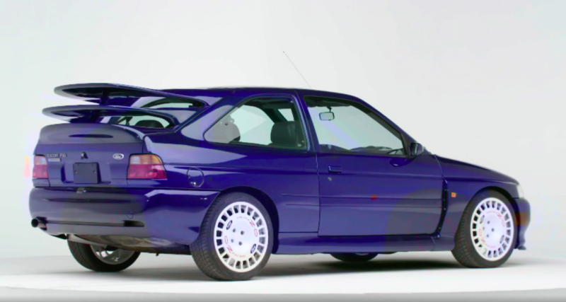 Hoonigan Escort >> 1992 Ford Escort RS Cosworth: Quick History Lesson