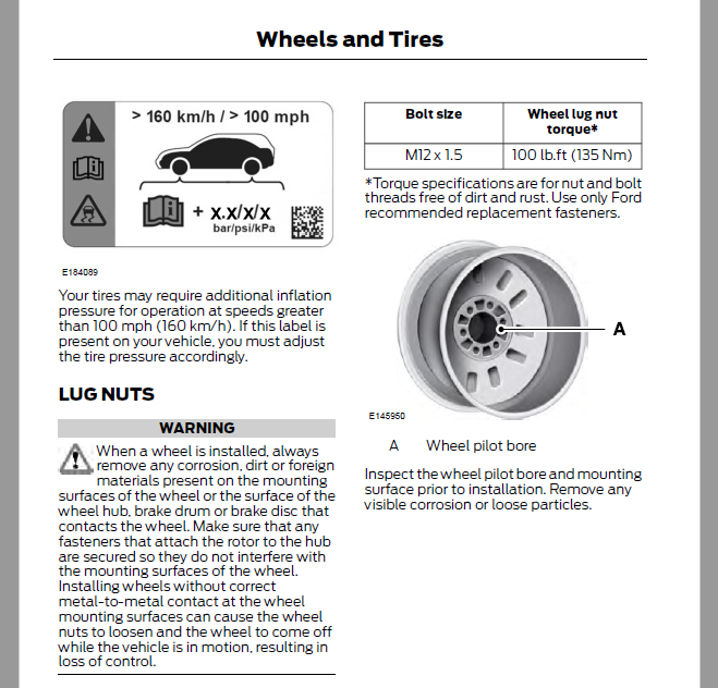Mercedes Wheel Bolt Torque Specs