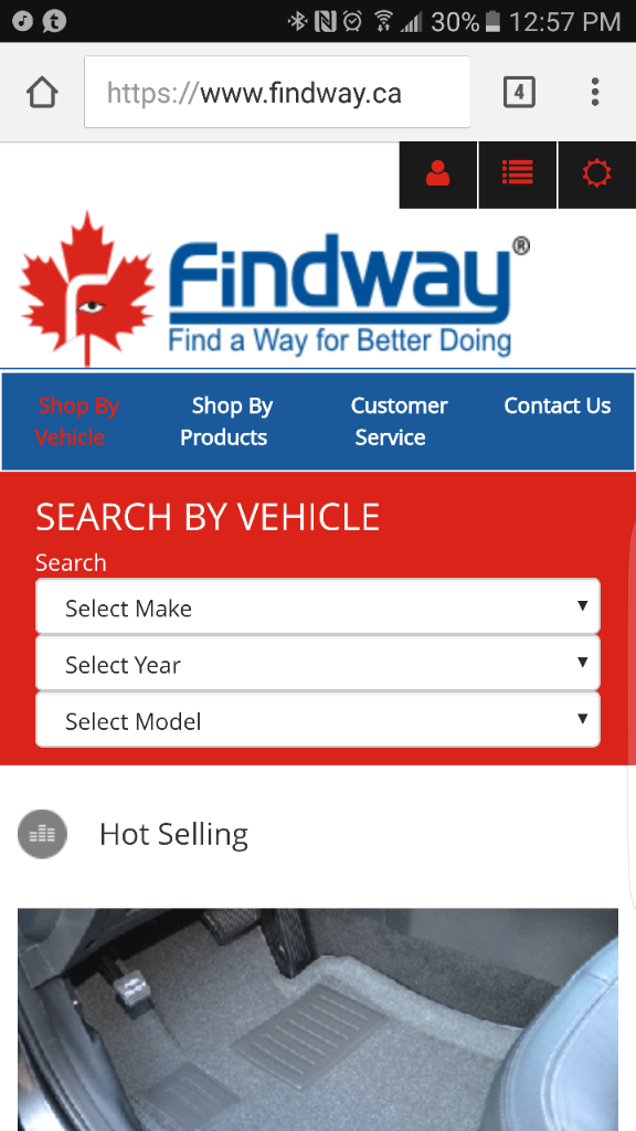 Findway : All weather mats, OE look Markham ON | Ford Focus