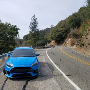 2016 Focus RS on Hwy 49